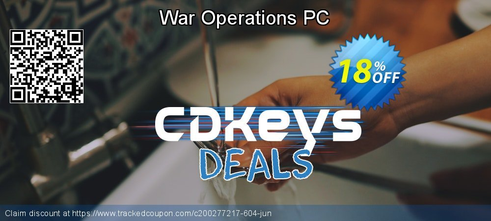 War Operations PC coupon on University Student offer sales