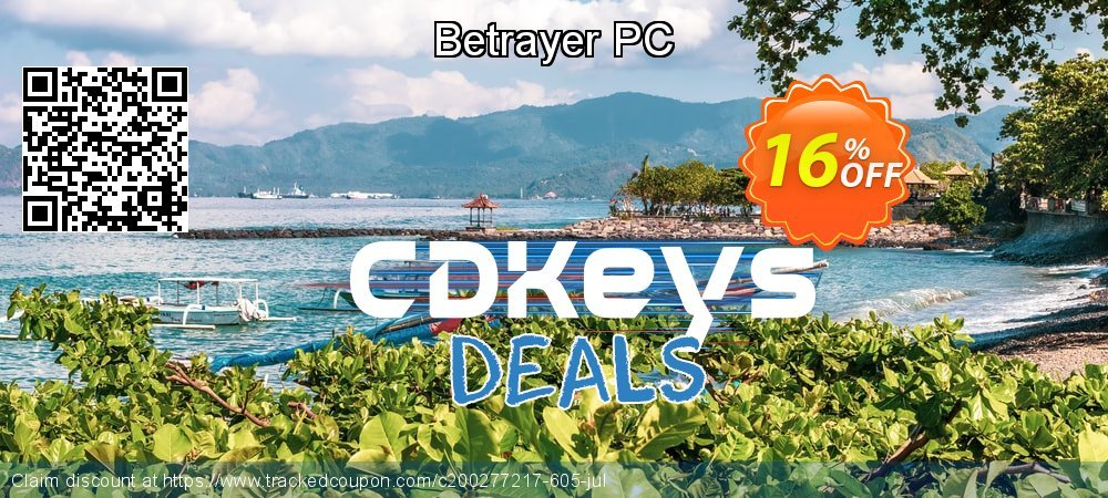 Betrayer PC coupon on University Student deals deals