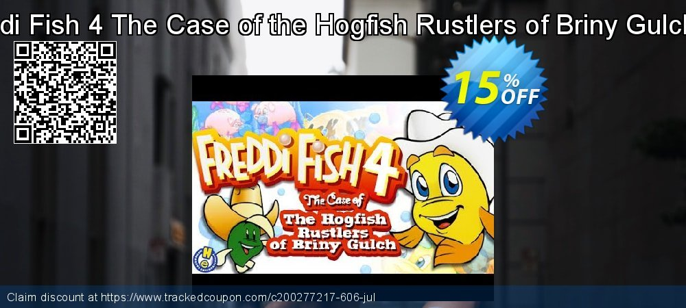 Freddi Fish 4 The Case of the Hogfish Rustlers of Briny Gulch PC coupon on National French Fry Day sales