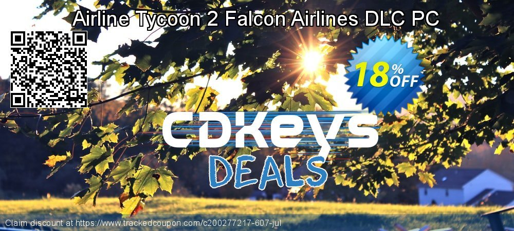 Airline Tycoon 2 Falcon Airlines DLC PC coupon on College Student deals discount