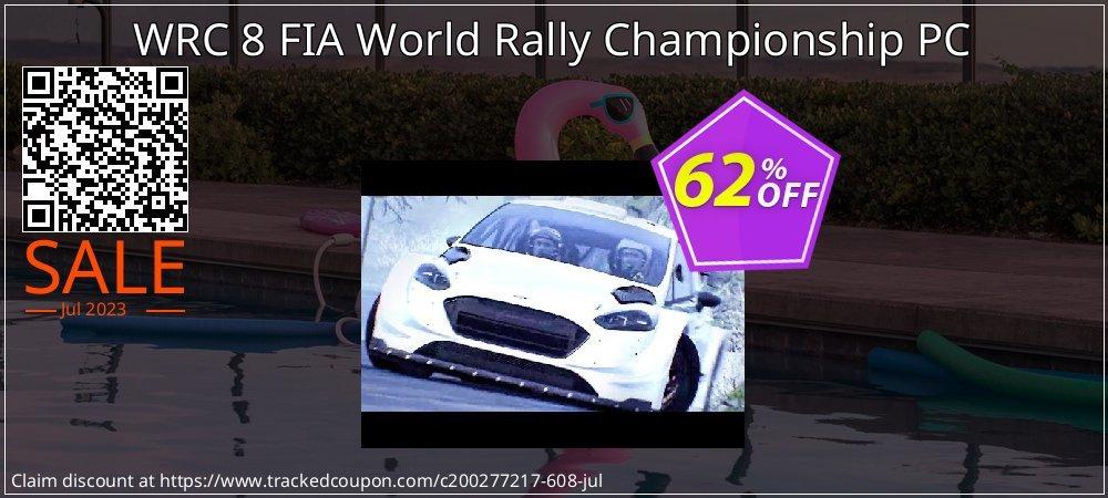 WRC 8 FIA World Rally Championship PC coupon on Eid al-Adha offer