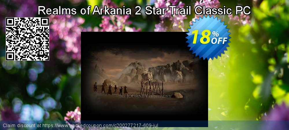 Realms of Arkania 2 Star Trail Classic PC coupon on Back to School promo offering sales