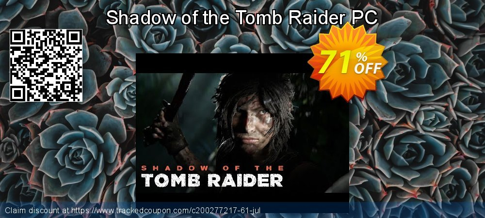 Shadow of the Tomb Raider PC coupon on Mothers Day offer