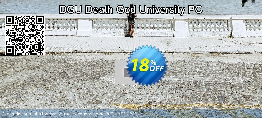 DGU Death God University PC coupon on World Population Day offering discount
