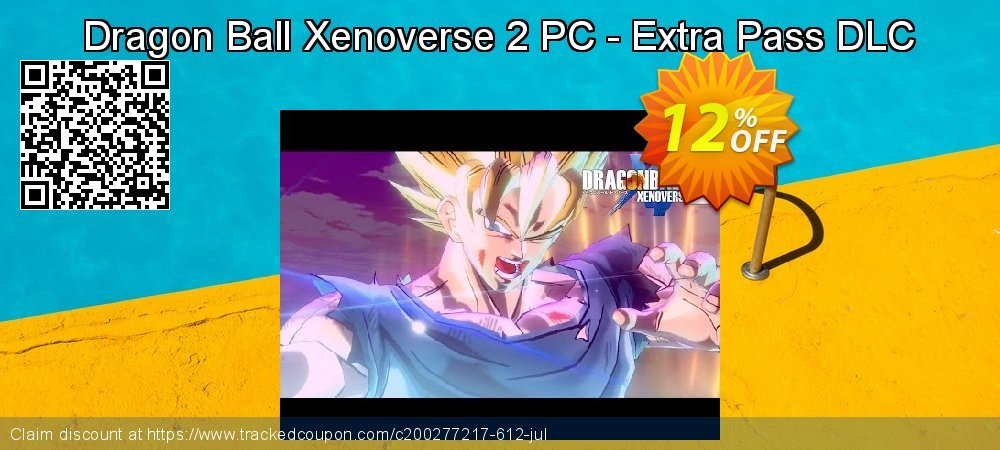 Dragon Ball Xenoverse 2 PC - Extra Pass DLC coupon on Back to School deals promotions