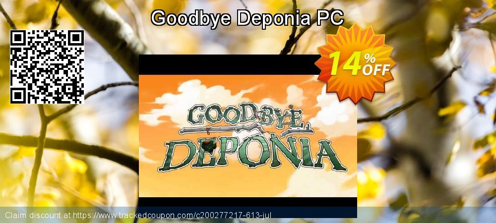 Goodbye Deponia PC coupon on Back to School shopping sales