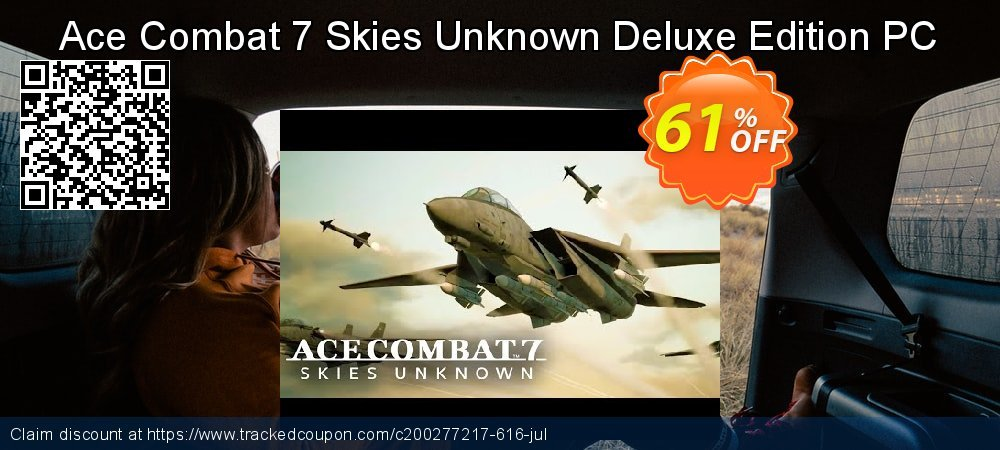 Ace Combat 7 Skies Unknown Deluxe Edition PC coupon on National Bikini Day deals