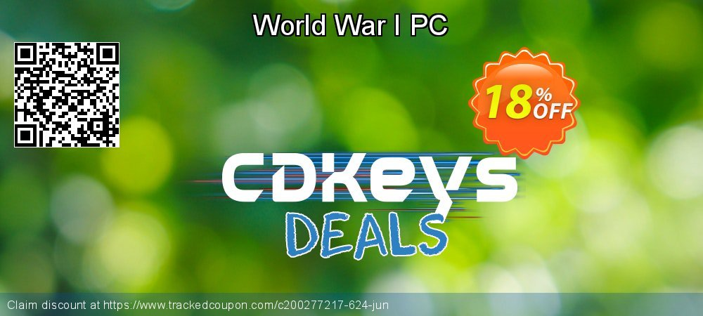 World War I PC coupon on College Student deals offer