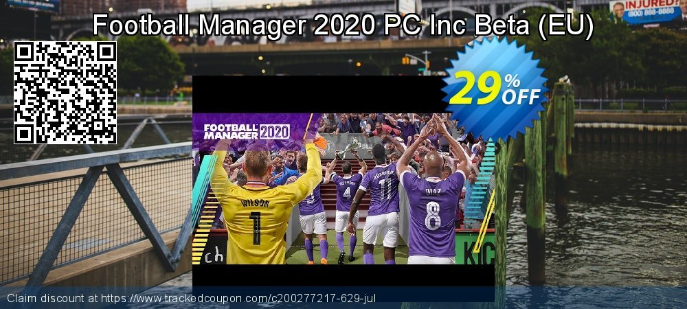 Football Manager 2020 PC Inc Beta - EU  coupon on Halloween promotions