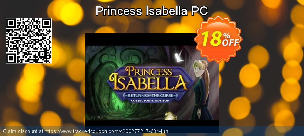 Princess Isabella PC coupon on Back to School offer sales