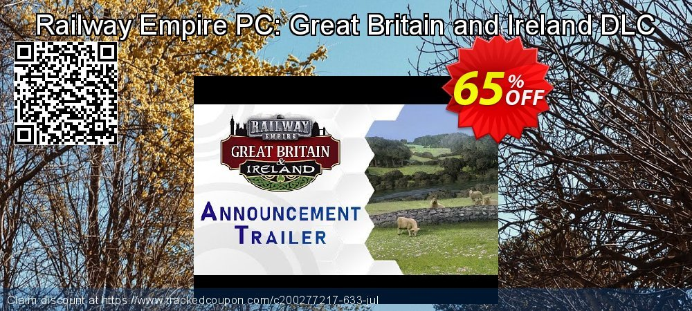 Railway Empire PC: Great Britain and Ireland DLC coupon on Back to School season offer