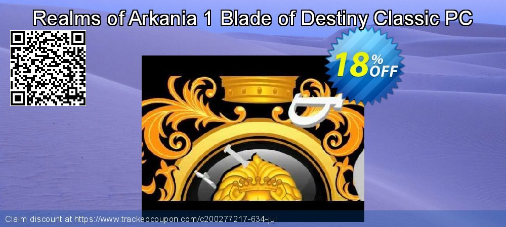 Realms of Arkania 1 Blade of Destiny Classic PC coupon on Exclusive Student deals discount