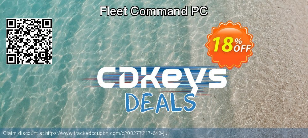 Fleet Command PC coupon on Back to School promo discount