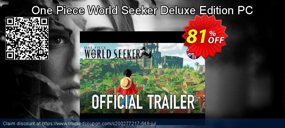 One Piece World Seeker Deluxe Edition PC coupon on Halloween sales