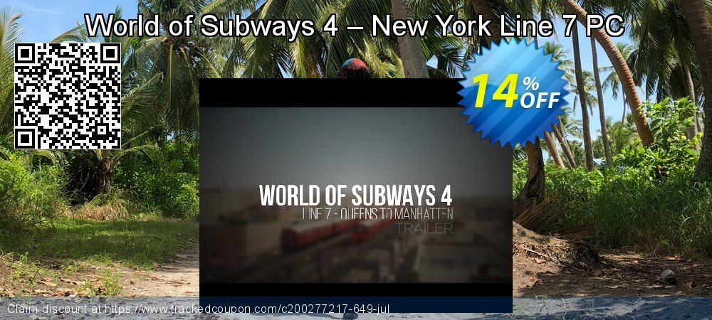 World of Subways 4 – New York Line 7 PC coupon on Back to School coupons sales