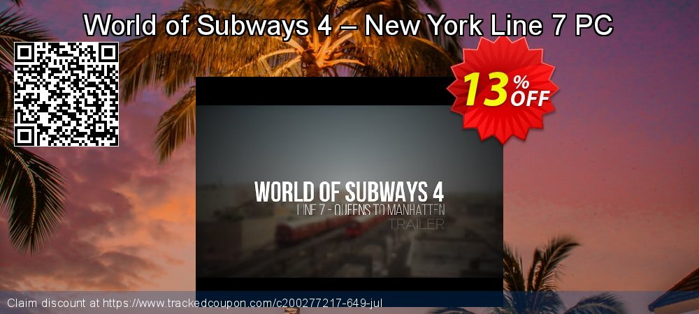 World of Subways 4 – New York Line 7 PC coupon on World Population Day discounts