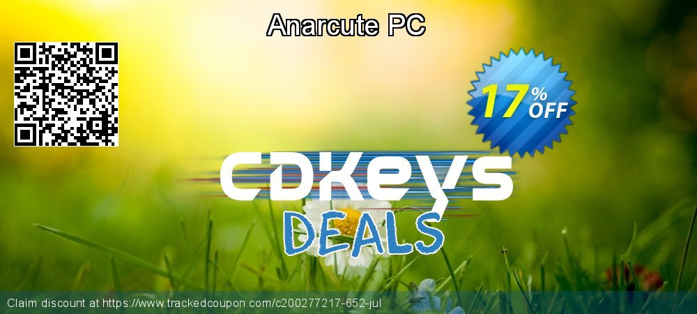 Anarcute PC coupon on Student deals discount