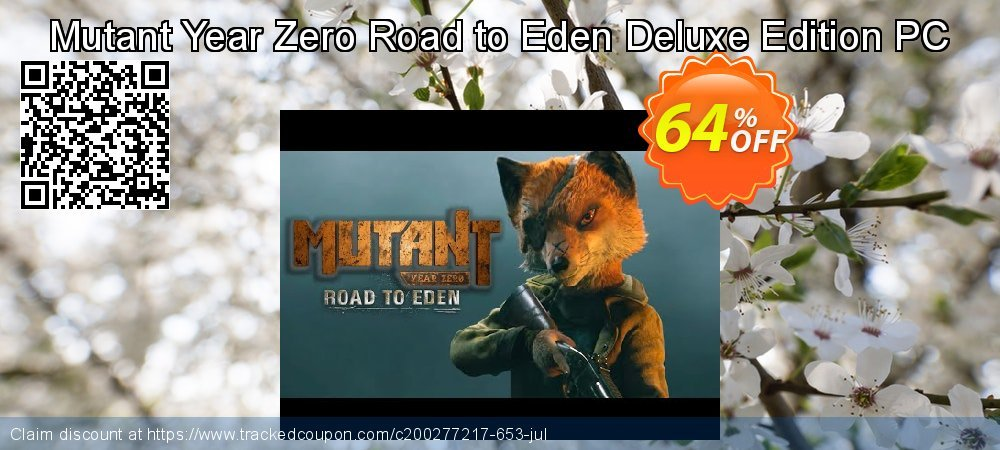 Mutant Year Zero Road to Eden Deluxe Edition PC coupon on Exclusive Student discount offering discount