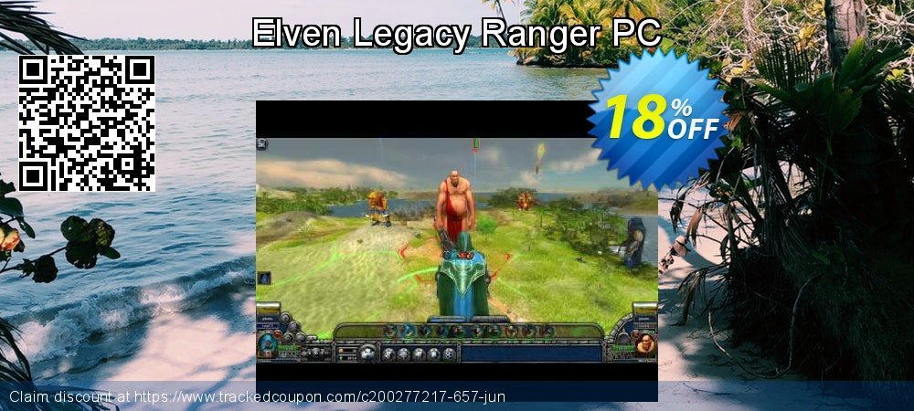 Elven Legacy Ranger PC coupon on World Chocolate Day super sale