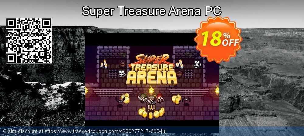 Super Treasure Arena PC coupon on Back to School promo offer
