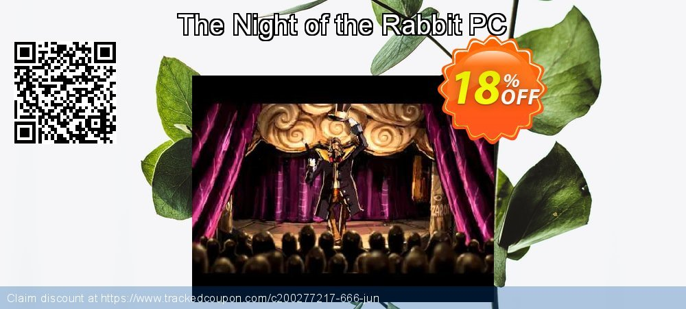 The Night of the Rabbit PC coupon on Back to School coupons promotions