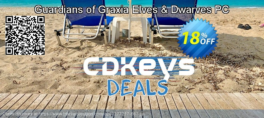 Guardians of Graxia Elves & Dwarves PC coupon on Summer discounts