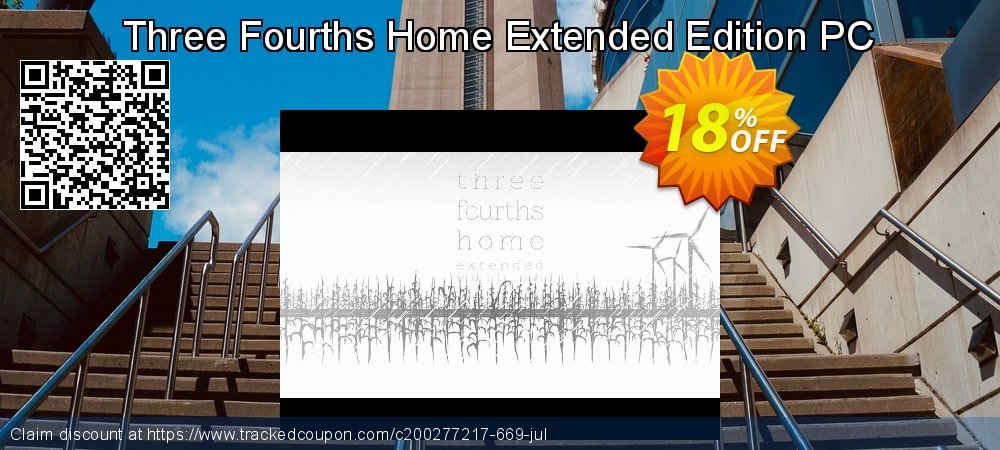 Three Fourths Home Extended Edition PC coupon on Student deals offer