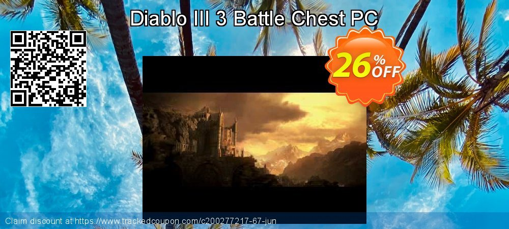 Diablo III 3 Battle Chest PC coupon on Mothers Day promotions