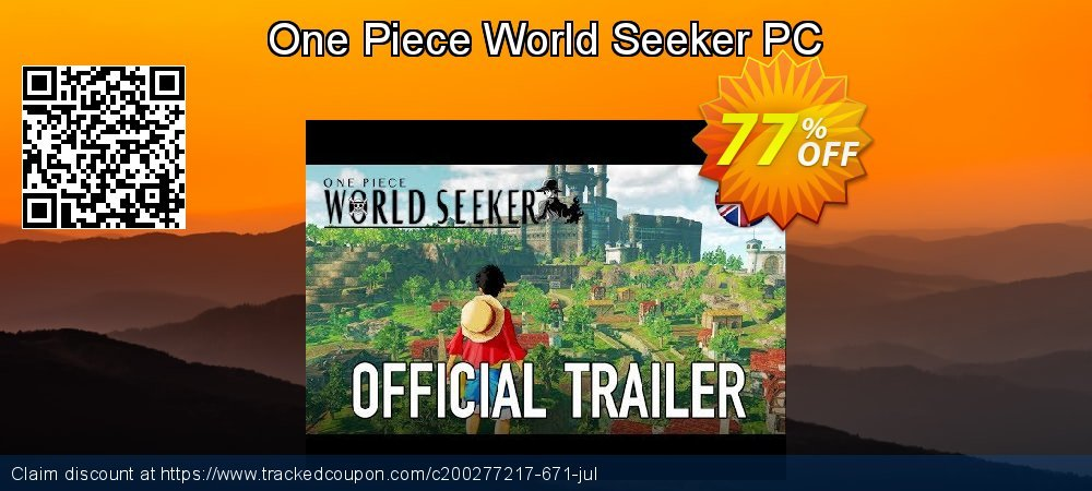 One Piece World Seeker PC coupon on National French Fry Day offer