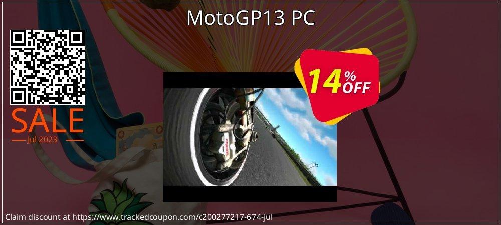 MotoGP13 PC coupon on Teacher deals discounts