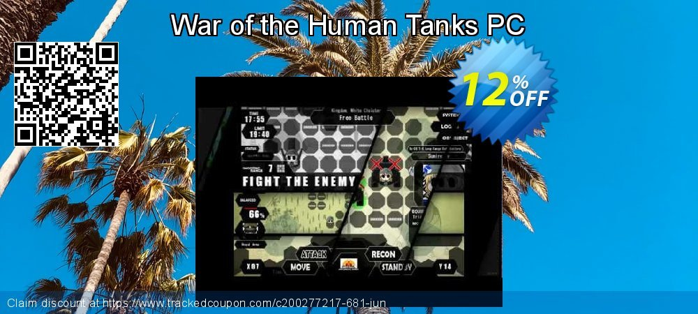 War of the Human Tanks PC coupon on Back to School shopping offering sales