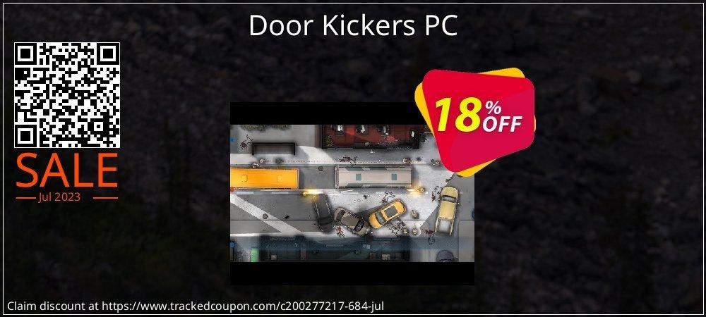 Door Kickers PC coupon on Back to School season promotions