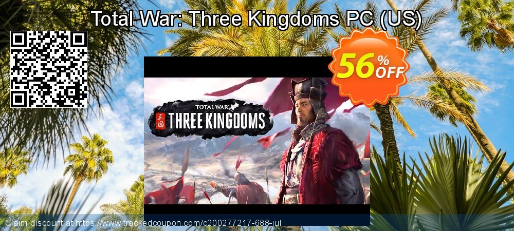 Total War: Three Kingdoms PC - US  coupon on Exclusive Teacher discount discount