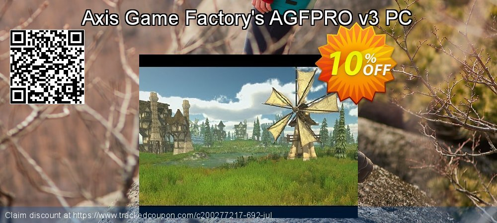 Axis Game Factory's AGFPRO v3 PC coupon on New Year promotions