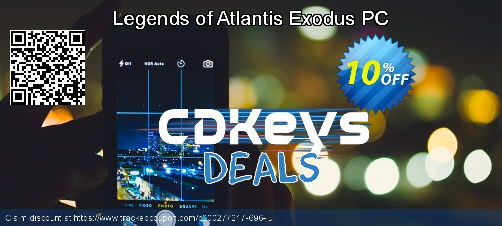 Legends of Atlantis Exodus PC coupon on Back to School promotions offer