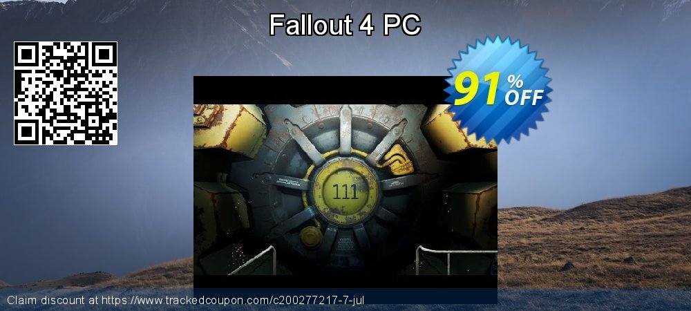 Fallout 4 PC coupon on Mothers Day offer