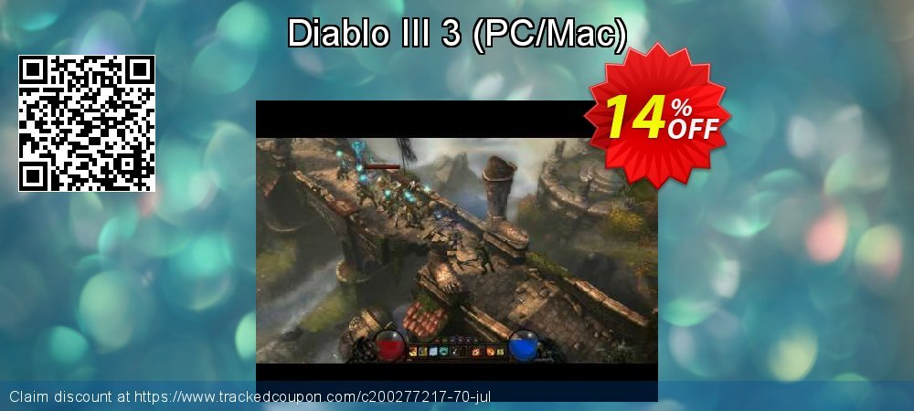 Diablo III 3 - PC/Mac  coupon on Mom Day offer