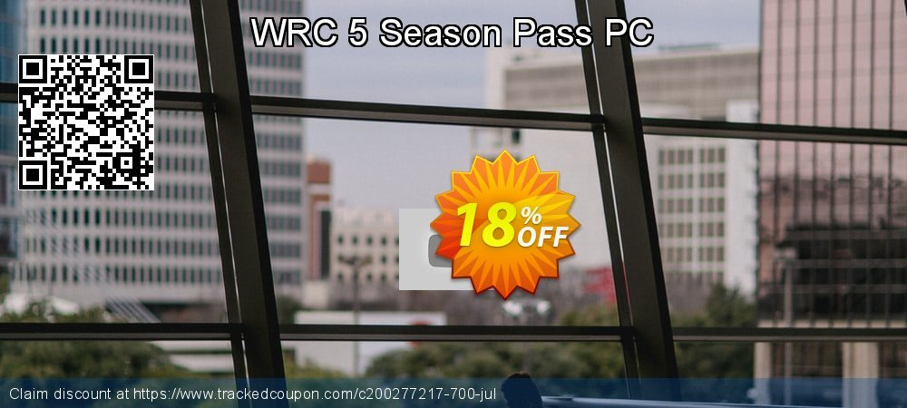 WRC 5 Season Pass PC coupon on Back to School coupons super sale