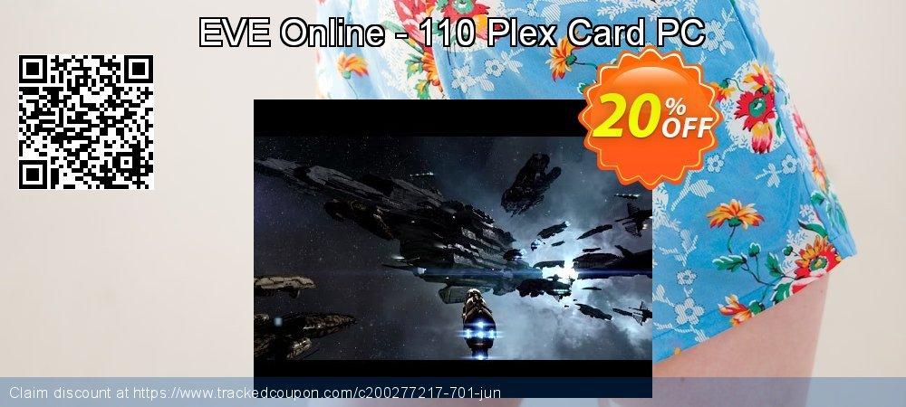 EVE Online - 110 Plex Card PC coupon on Halloween promotions