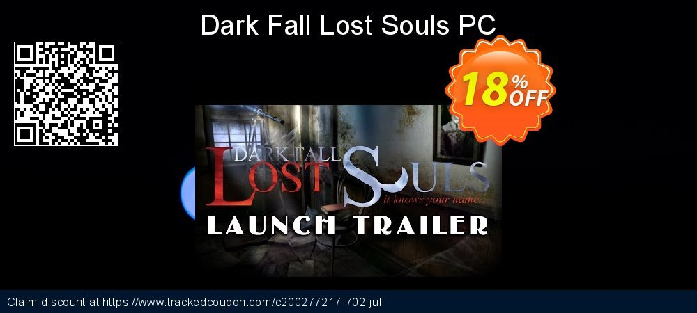 Dark Fall Lost Souls PC coupon on Happy New Year sales