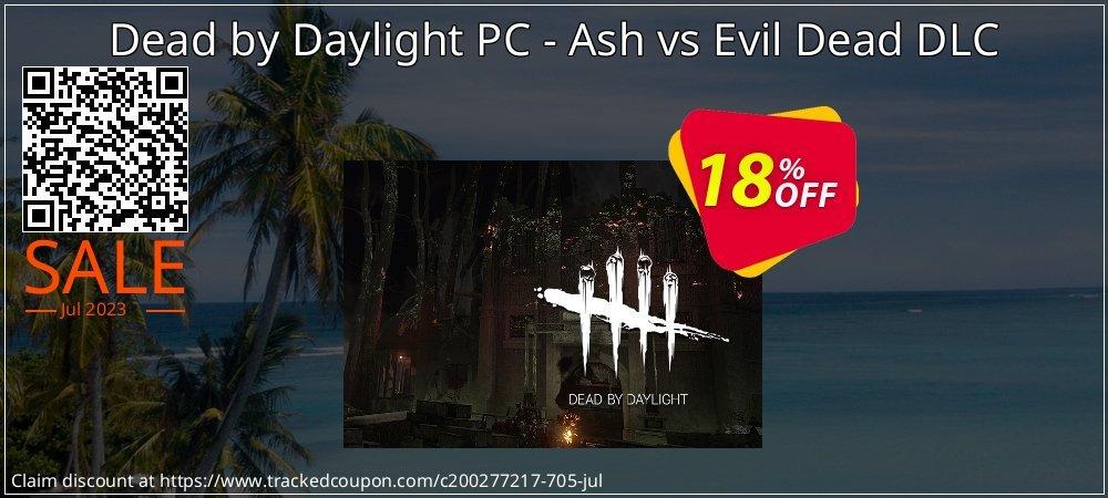 Dead by Daylight PC - Ash vs Evil Dead DLC coupon on Parents' Day sales