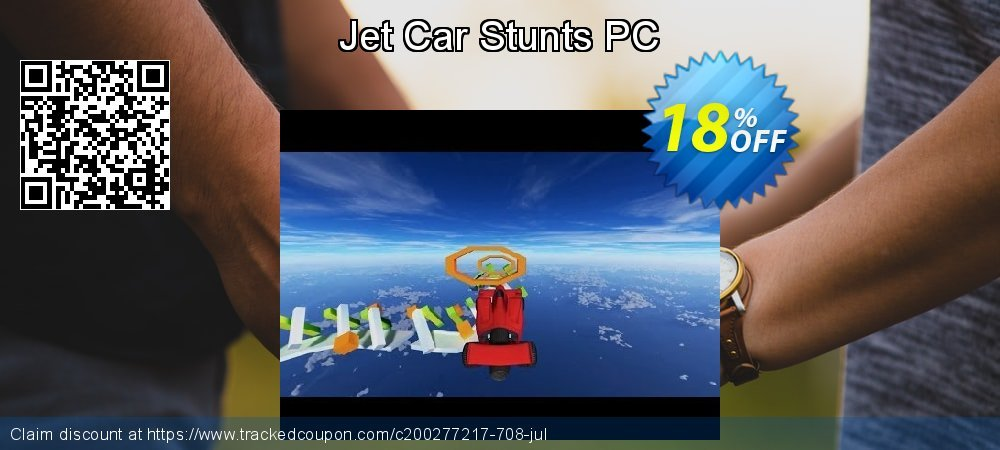 Jet Car Stunts PC coupon on American Independence Day discount