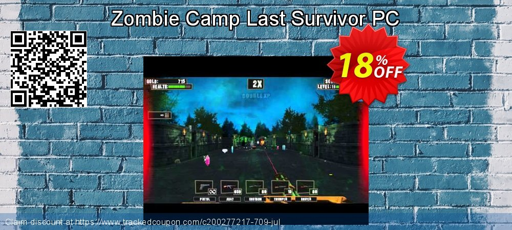 Zombie Camp Last Survivor PC coupon on World Chocolate Day offering discount