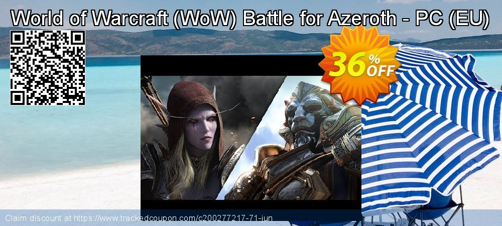 World of Warcraft - WoW Battle for Azeroth - PC - EU  coupon on Mothers Day discount