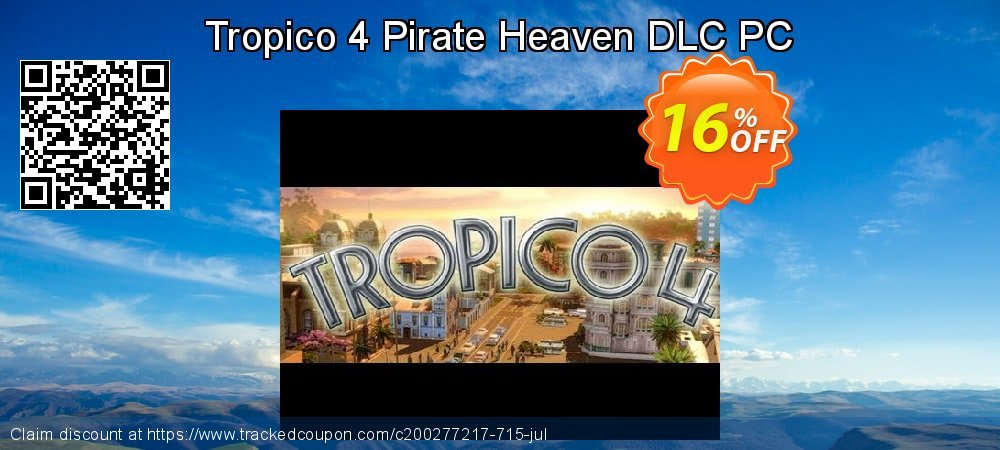 Tropico 4 Pirate Heaven DLC PC coupon on Back to School shopping discount