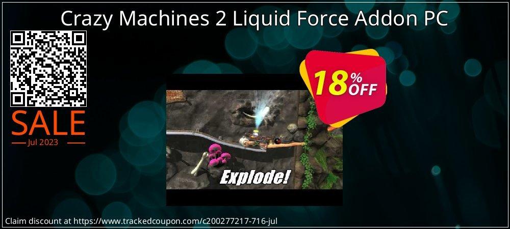 Get 10% OFF Crazy Machines 2 Liquid Force Addon PC offering sales