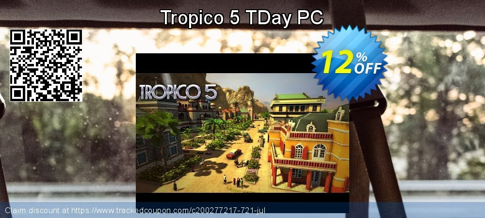 Tropico 5 TDay PC coupon on American Independence Day discounts