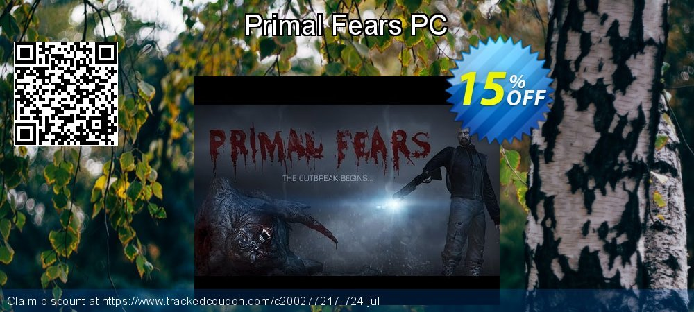 Primal Fears PC coupon on University Student deals discount