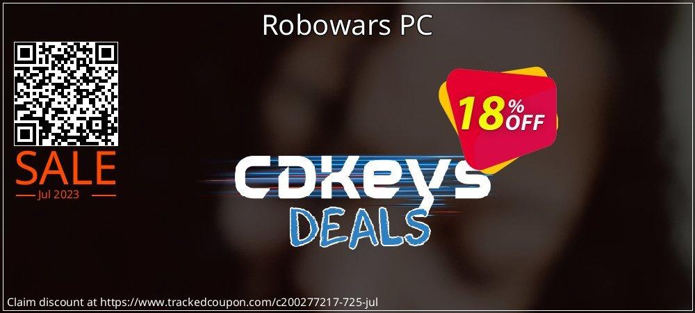 Robowars PC coupon on Eid al-Adha offer