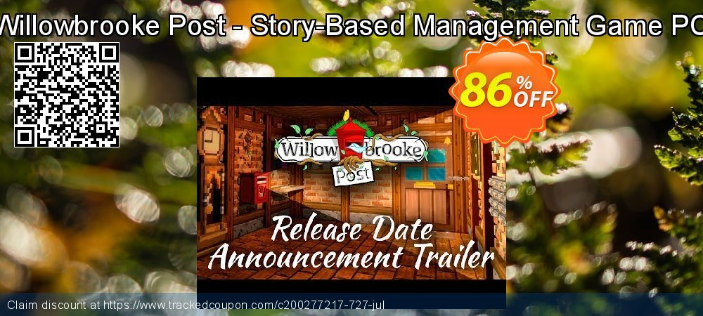 Willowbrooke Post - Story-Based Management Game PC coupon on Halloween discounts